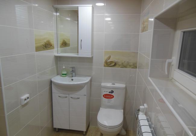 """""""Уборная"""" или небольшая ванная комната."""